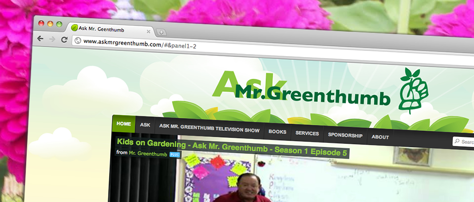 The All New AskMrGreenthumb.com